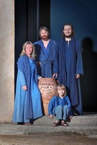 Familie Feldmeier Passion 2010